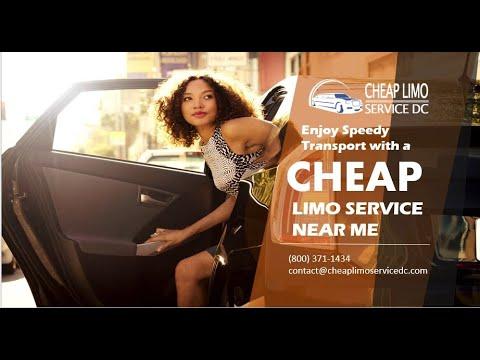 Enjoy Speedy Transport with a Cheap Limo Service Near Me