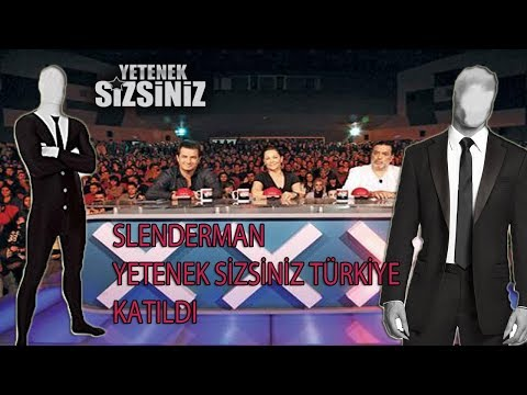 SLENDERMAN (SÜLEYMANDER)- YETENEK SİZSİNİZ TÜRKİYE'YE KATILDI !!