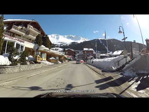 Switzerland 240 (Camera on board): Martigny - Verbier 2D (Go