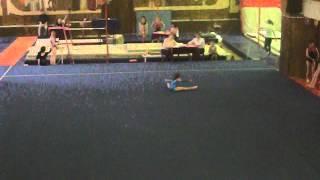 Белан Анна, 9 лет, спорт.гимнастика, вольные