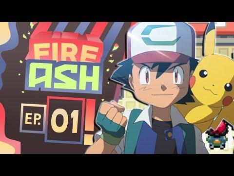Pokemon Fire Ash Part 1 Ash Ketchum I choose You! ( Pokemon Fan Game ) Gameplay Walkthrough