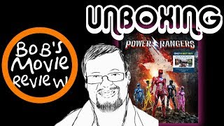Power Rangers Best Buy Exclusive Blu-Ray Unboxing ( Very Cool )