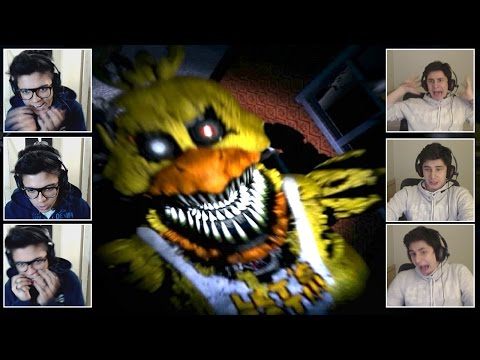 O MAIOR SUSTO DO PAC! - Five Nights at Freddy's 4