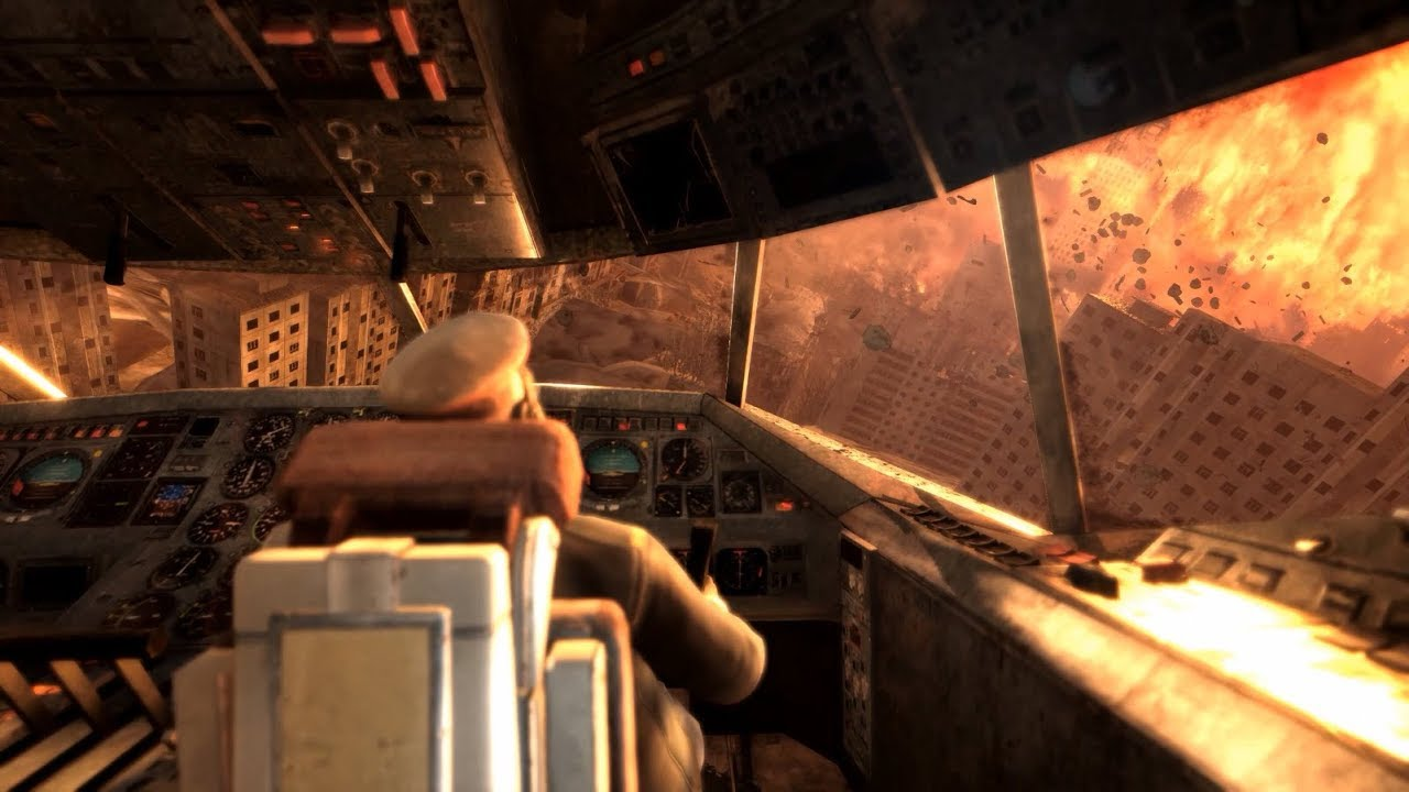 Nuclear Bomb Explodes in to Moscow - Metro: Last Light Redux Gameplay - YouTube