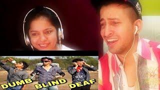DUMB BLIND DEAF | Round2hell | REACTION ON R2H ||