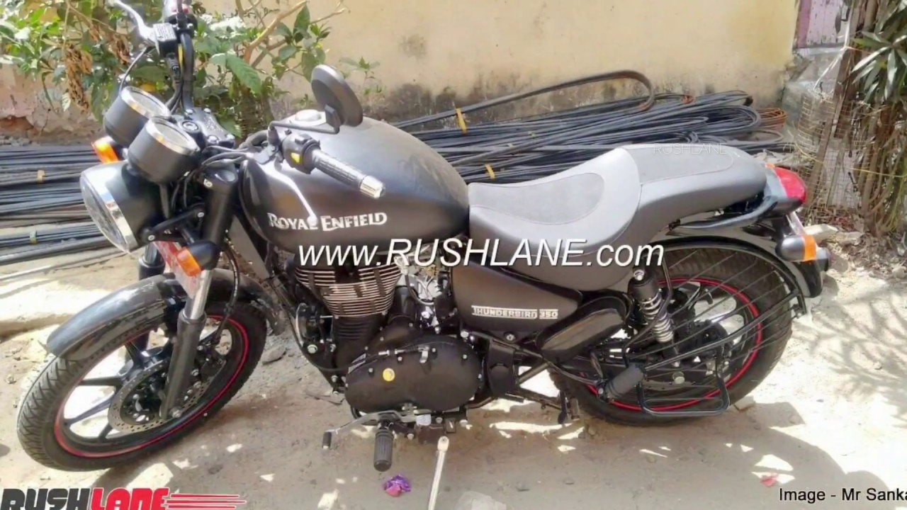royal enfield thunderbird 350x abs launched in india
