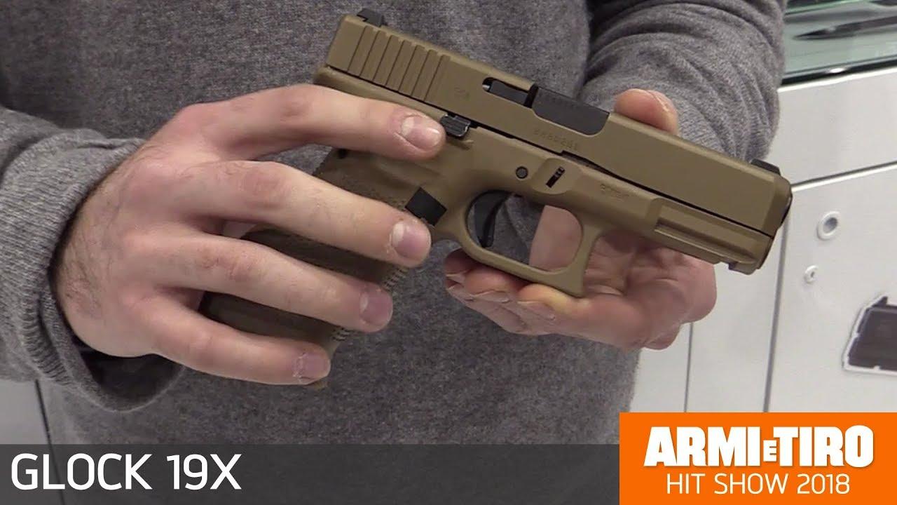 Glock 19x Calibro 9x21 La Crossover Di Glock Youtube
