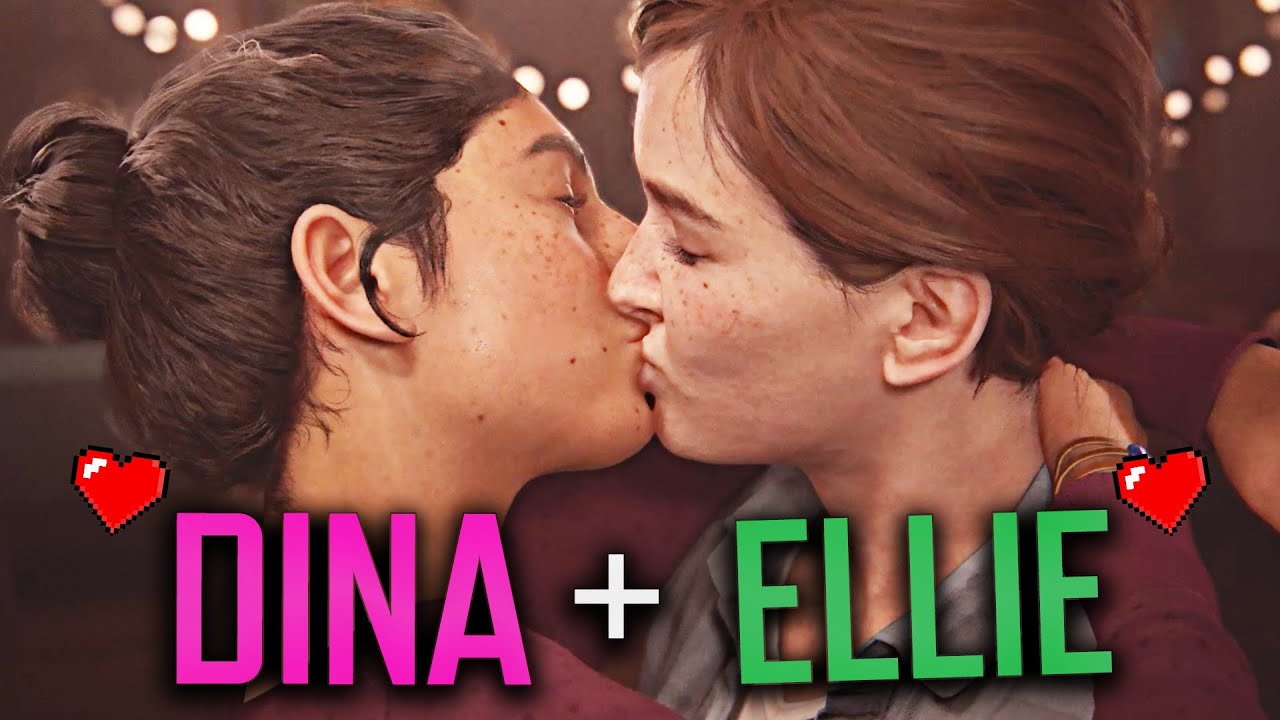 Dina and Ellie's Love Story | The Last of Us Part 2 // All Romance Scenes