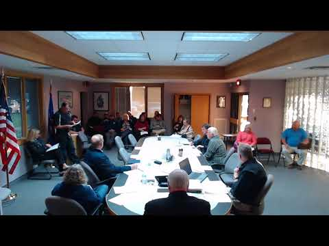 Village of Osceola WI Board meeting October 10, 2017