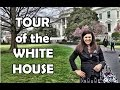 White House Tour During my Visit to See First Lady Michelle Obama #LetsMove