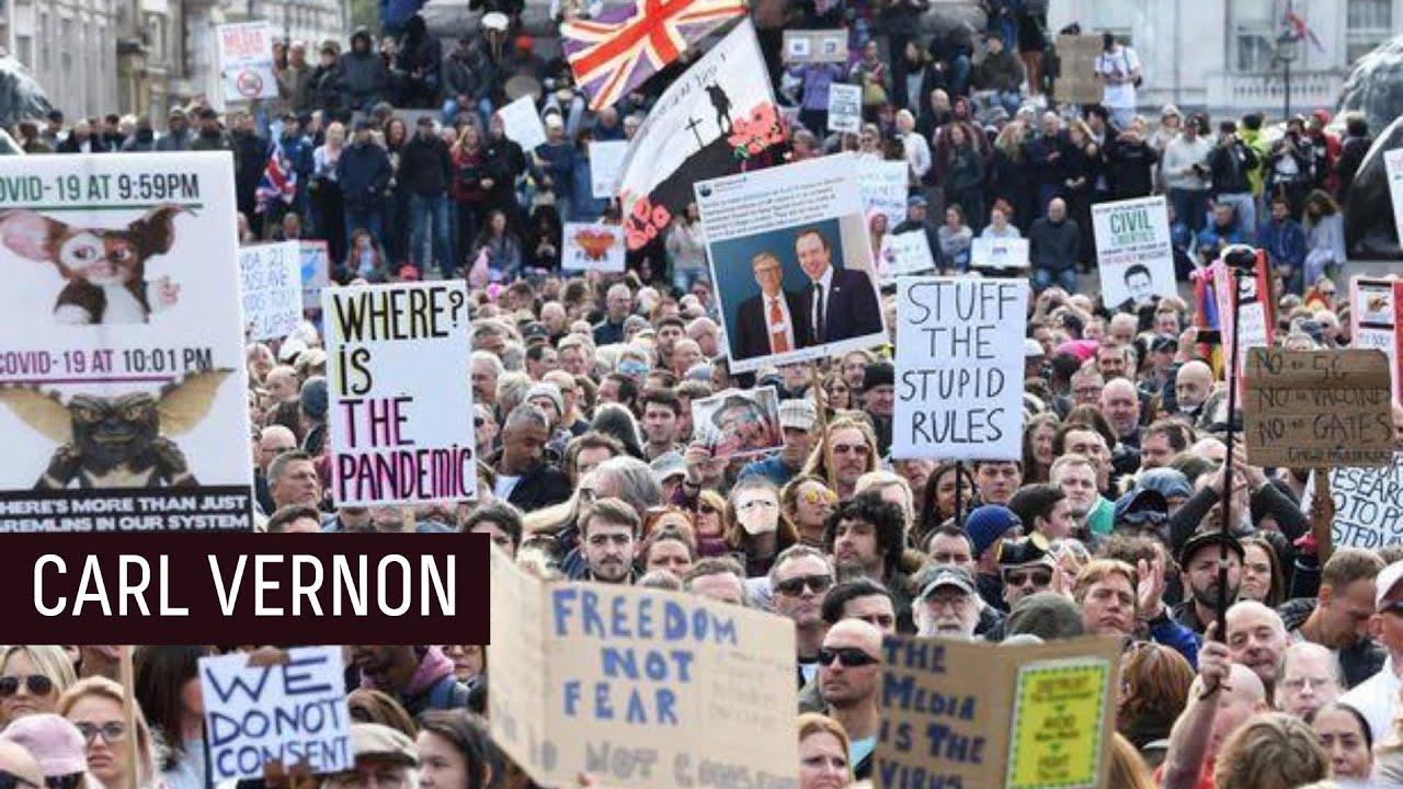 """""""Selfish"""" Anti-Lockdown London !"""