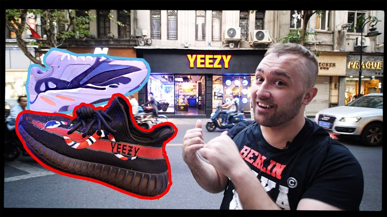 Fake Yeezy Store in China! - YouTube 581d9e55e