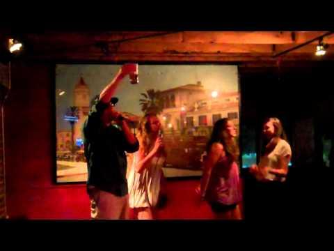 "Brew Co Karaoke Josh singing ""Runaway"" by Kanye West"