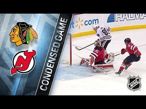 Chicago Blackhawks vs New Jersey Devils – Dec.23, 2017 | Game Highlights | NHL 2017/18 Обзор