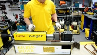 Гидравлический станок для гибки арматуры Mobi-Bieger(Мобильный гибочный пресс Mobi-Bieger предназначен для гибки или рубки арматуры и металлических пластин. Возмож..., 2015-07-22T05:06:45.000Z)