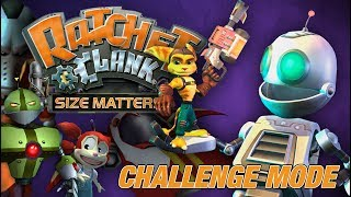 Ratchet & Clank: Size Matters (PS2): Challenge Mode (No Commentary) Full Playthrough