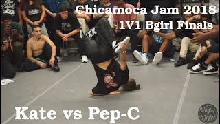 Kate vs Pep-C - Finał 1vs1 Bgirls na Chicamoca Jam 2018