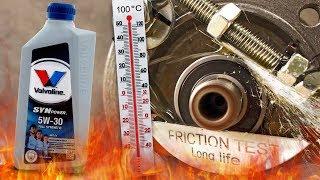 Valvoline SynPower MST C4 5W30 Jak skutecznie olej chroni silnik? 100°C