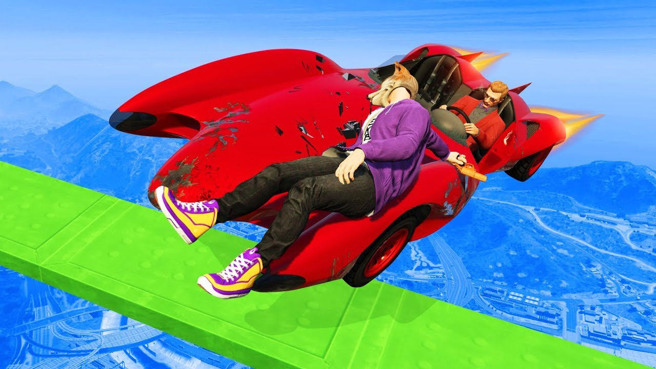 UNRELEASED CARS VS RUNNERS CRASH  GTA 5 Funny Moments