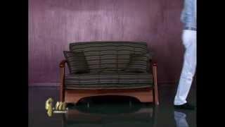 Мебельный интернет магазин, мягкая мебель на MOBIILI.ua(http://mobili.ua Раскладывание аккордеон дивана SANTA CRUZ от Итальянской мебельной фабрики GM ITALIA. Этот диван кровать..., 2012-04-04T15:14:59.000Z)