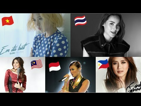 Southeast Asian Pop/Ballad Songs 2015-2018