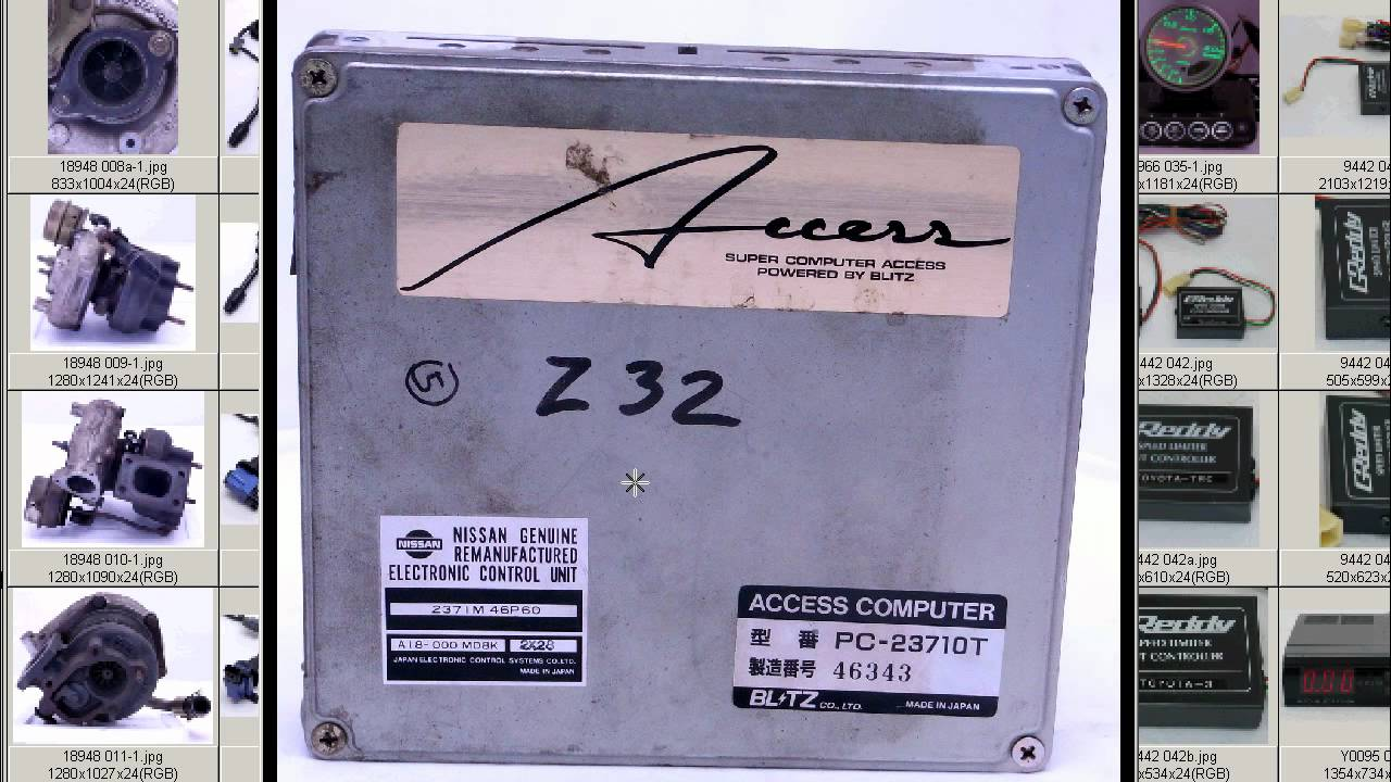 BLITZ ACCESS FAIRLADY Z32 ECU 300ZX