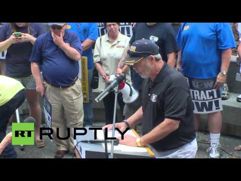 USA: Thousands of steel workers strike in Pittsburgh for contract settlements