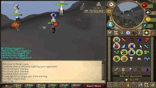 runescape jaws 2 75 first 5 minutes in new wildy first kill
