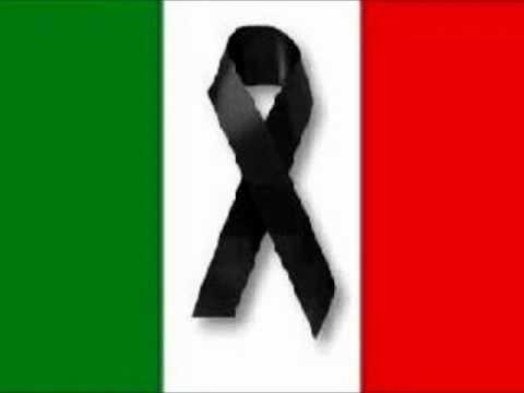 Italia in lutto - Amazing grace cornamusa