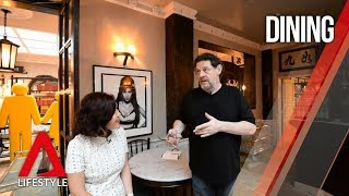 Celebrity chef Marco Pierre White's first restaurant in Asia | Exclusive first look | CNA Lifestyle