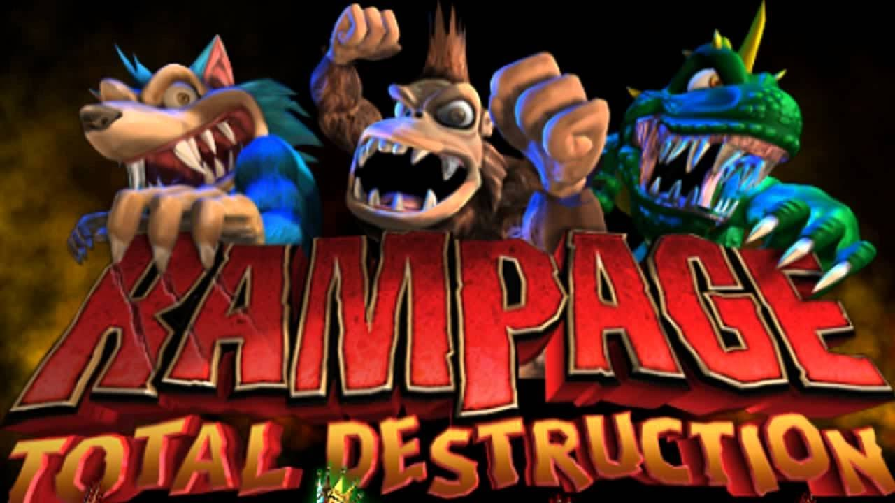 Rampage Total Destruction Wii Youtube