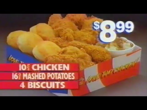 Popeyes Chicken Super Box Stars & Spice 1992 New Orleans AD