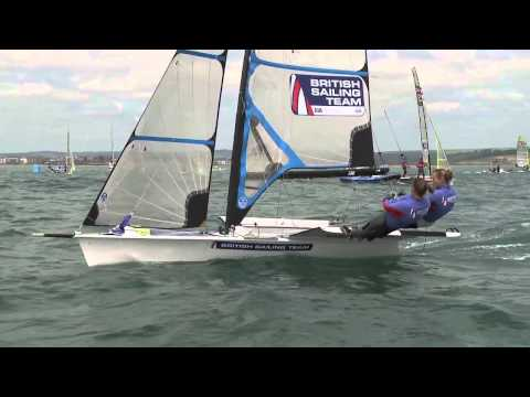 Sail for Gold Regatta 2013 - Day 1 - Shaw Carney Pink Wheeler Dobson GBR Phillips AUS