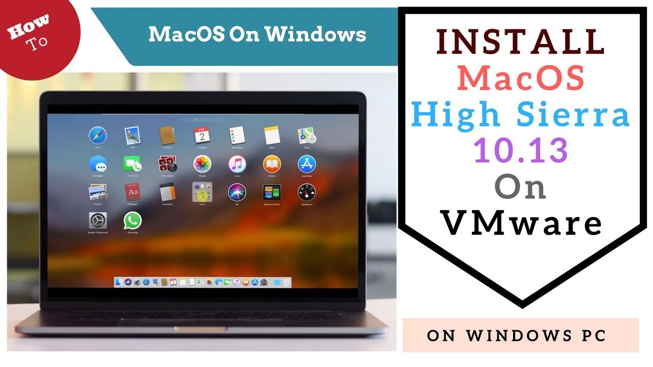 How to install mac os on windows based pc without vmware