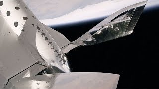 VSS Unity into the Mesosphere at Mach 2.4