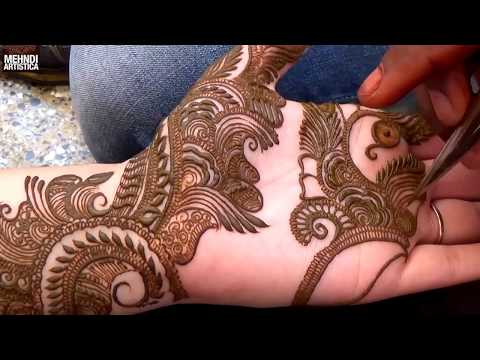 Step by Step Latest Mehndi Design For Hand 2017 # 1000+