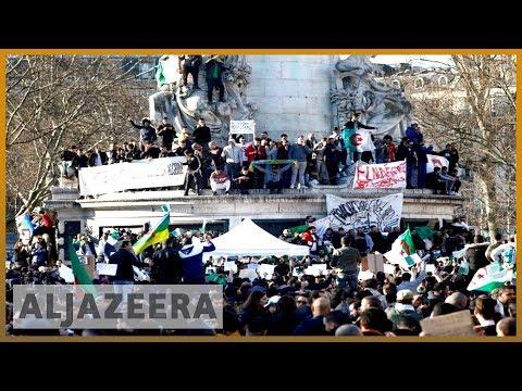 🇩🇿 Anti-Bouteflika protests go global | Al Jazeera English
