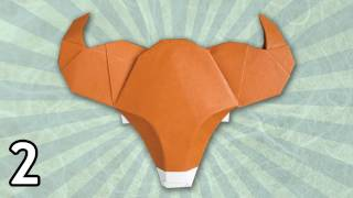 Origami Ox By Bernie Peyton (folding Instructions) ~part Two~