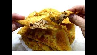 Хрустящие Чебуреки с мясом! Самый вкусный и быстрый рецепт сочных, нежных чебуреков.