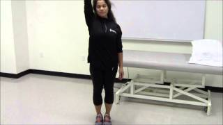 Thoracic Lateral Flexion Stretching