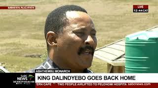 AbaThembu Monarch | King Dalindyebo goes back home