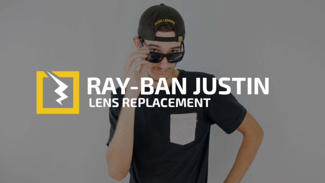 ray ban justin rb4165 lenses