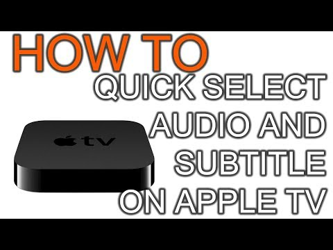 How to Quick Select  and Subtitle Language on Apple TV