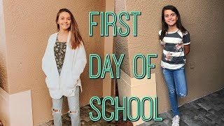 First day of School!  School Morning Routine 2019! / Emma and Ellie