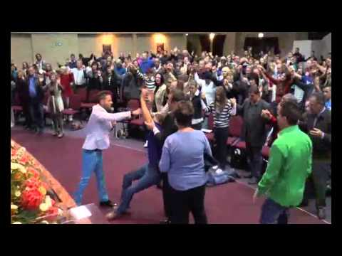 Wessel du Bruyn - Fire of the Holy Spirit falling in a powerful way