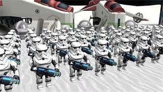Roblox STAR WARS TYCOON CLONE WARS FACTORY!! ROBLOX STAR WARS BATTLE!!