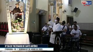 8º DIA DO TREZENARIO DE SANTO ANTÔNIO