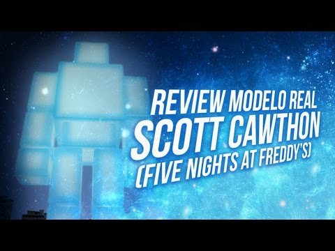 REVIEW MODELO REAL SCOTT CAWTHON ( FIVE NIGHTS AT FREDDY'S ) GMOD