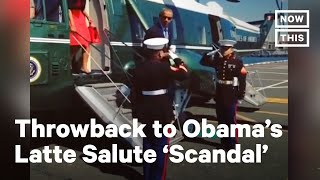 Remember When Fox News Freaked Over Obama's 'Latte Salute' | NowThis