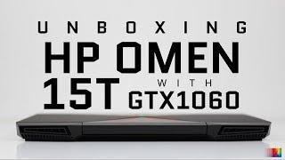 Unboxing HP Omen 15T in Stop Motion